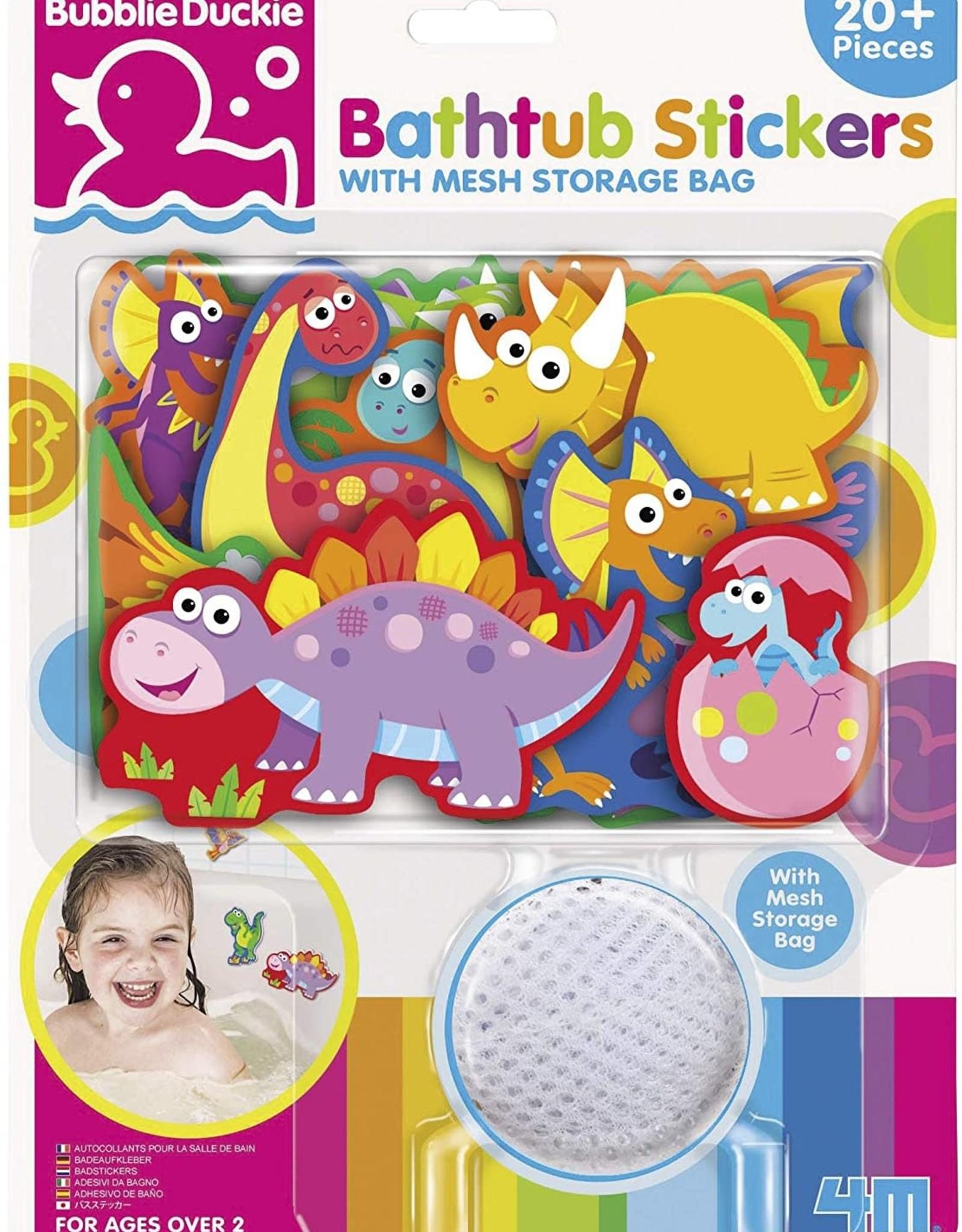 Toysmith Bathtub Stickers Dino