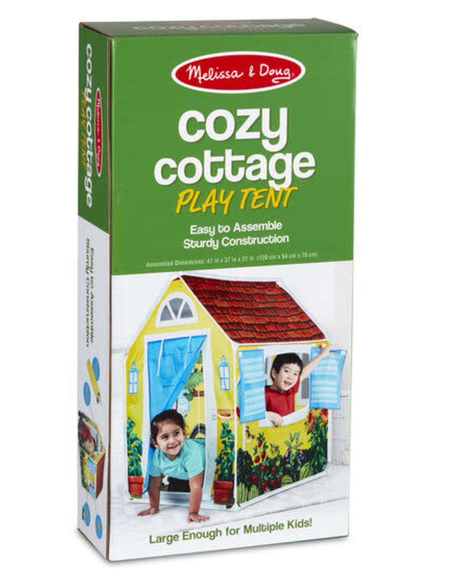 Melissa & Doug Cozy Cottage Tent