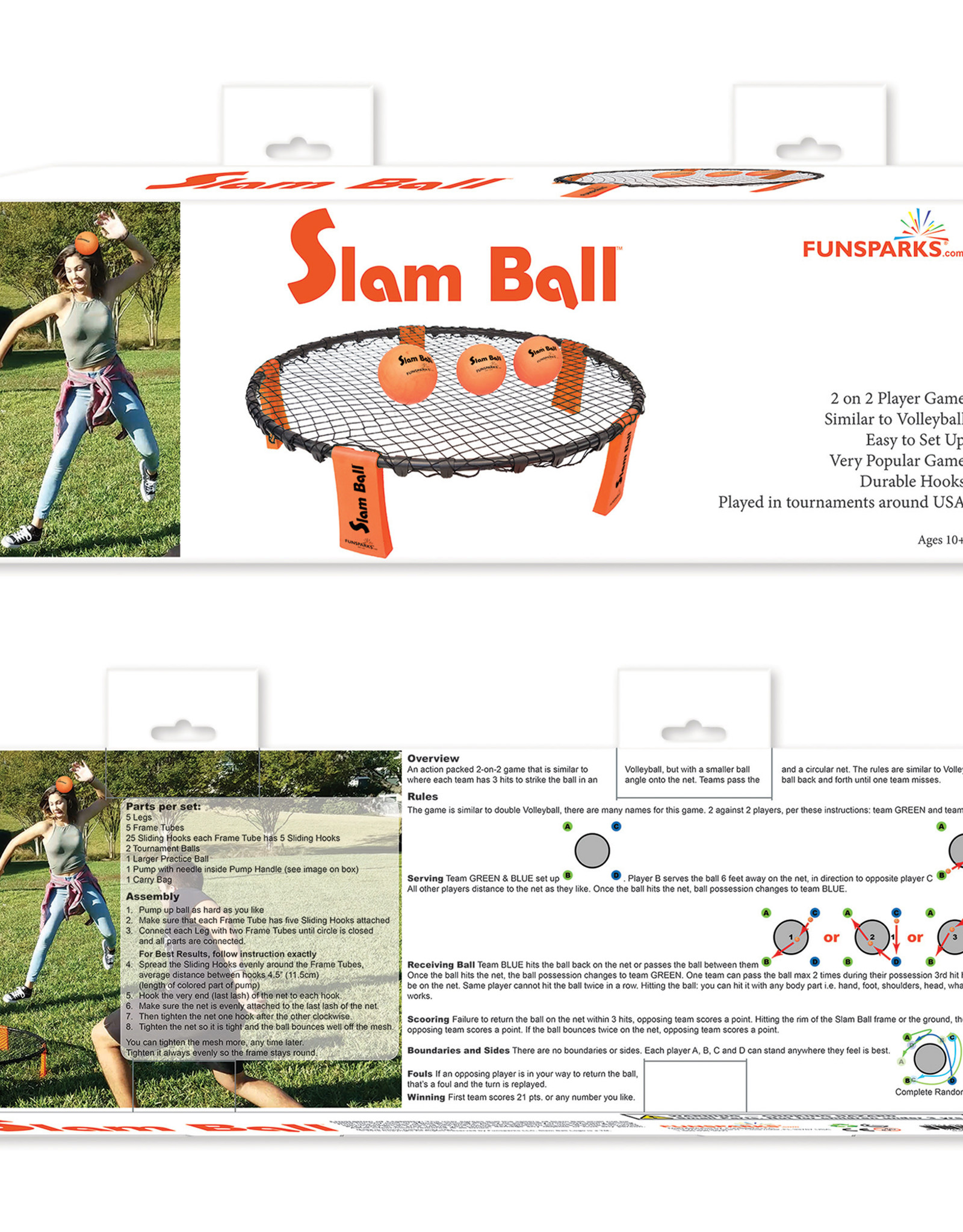 Funsparks Slam Ball Outdoor Game