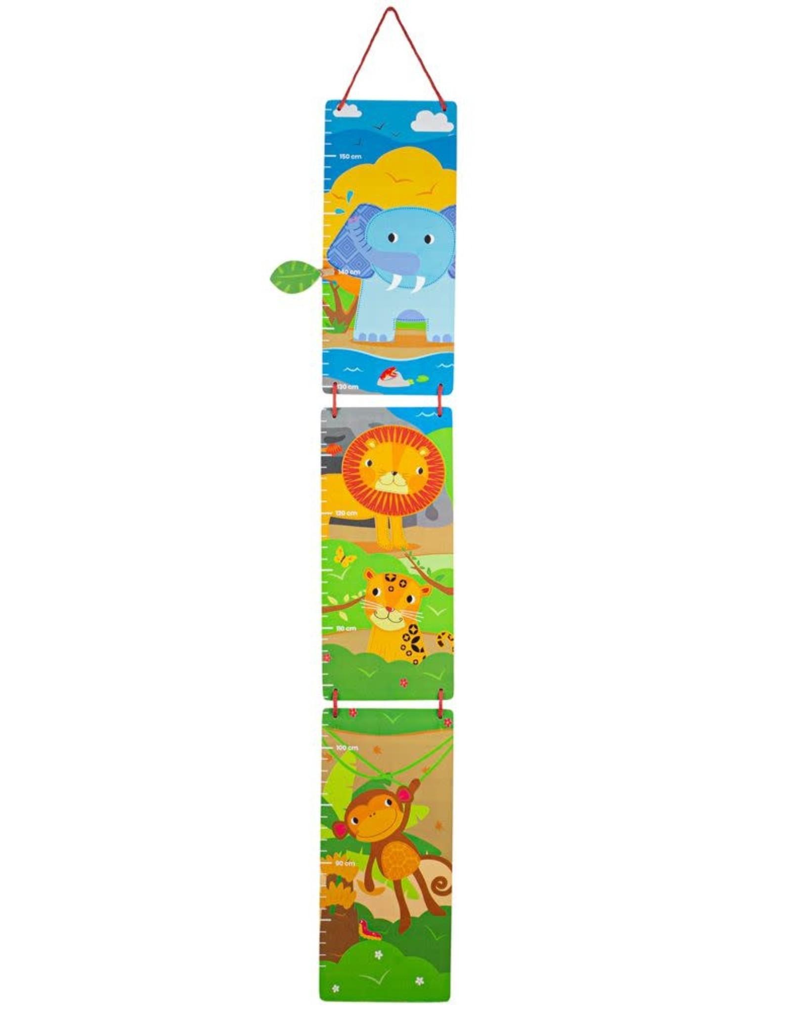 Bigjigs Toys Height Chart Jungle Theme