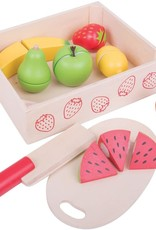 Bigjigs Toys Cutting Fruit Crate