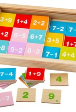 Bigjigs Toys Add and Subtract Box of Tiles
