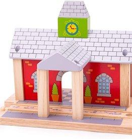 Bigjigs Toys Train Railway Station