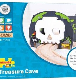 Bigjigs Toys Skull Cave Train Tunnel