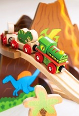 Bigjigs Toys Dinosaur Railway Set