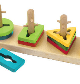 Edushape Crazy Stick Stacking Puzzle