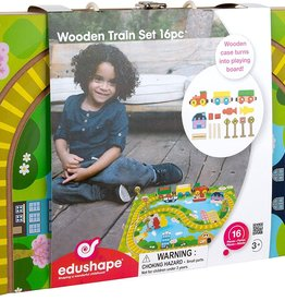 Edushape Wooden Train Box