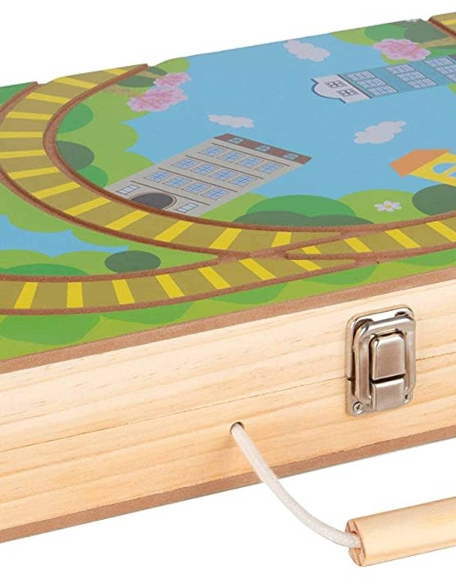 Edushape Wooden Train Box
