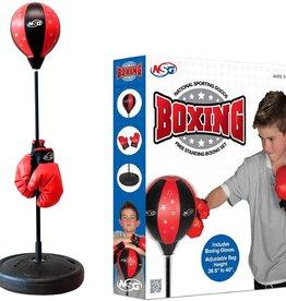 National Sporting Goods NSG Boxing Set  Red/Black