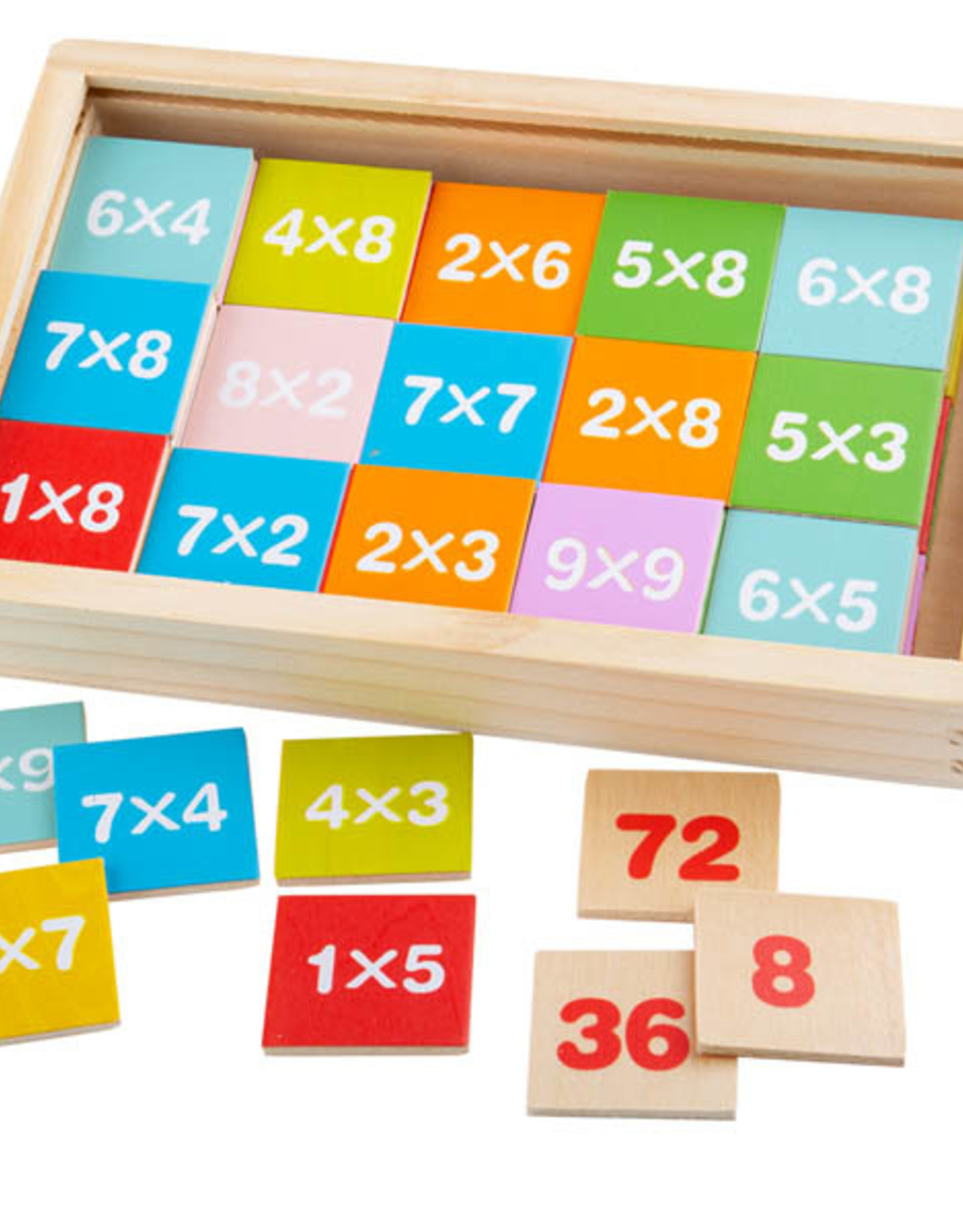 Bigjigs Toys Box of Tiles Times Table