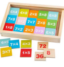 Bigjigs Toys Times Table Box of Tiles