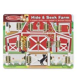 Melissa & Doug MD Magnetic Hide & Seek Farm Board