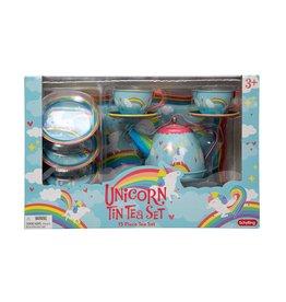 Schylling Tea Set Unicorn Tin
