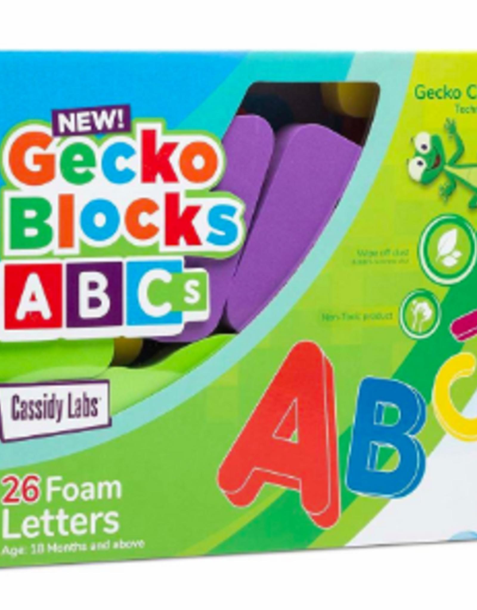 Cassidy Labs Gecko Block ABCs