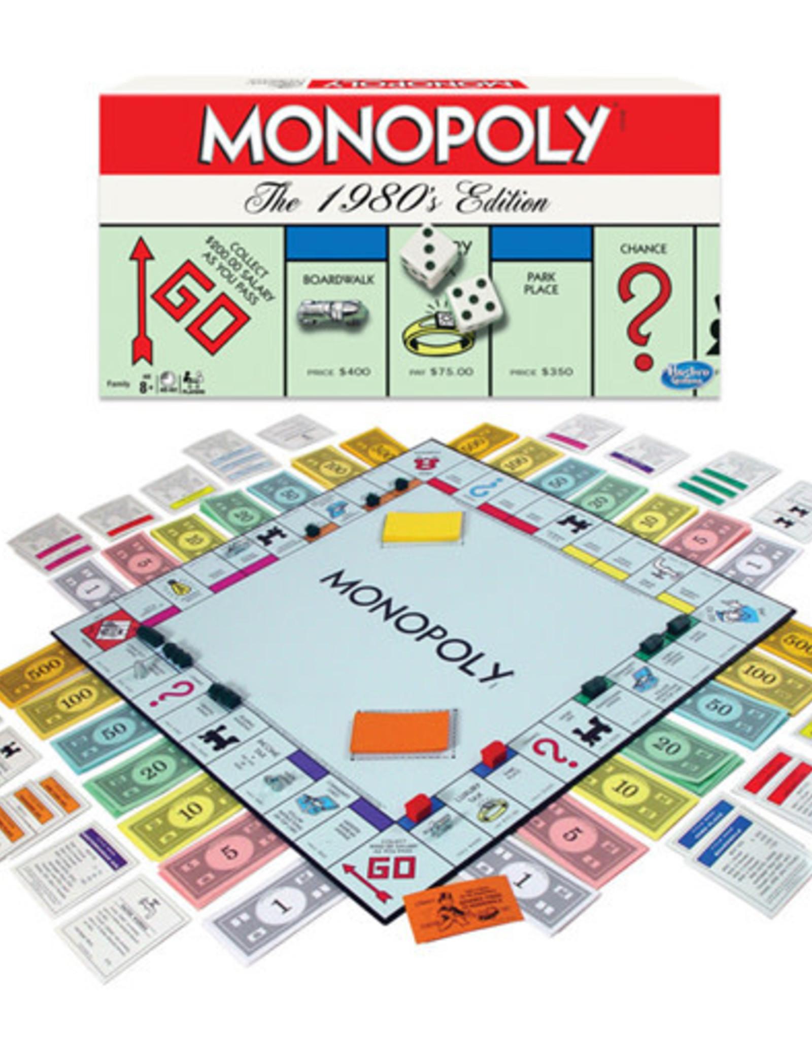 Hasbro Monopoly 80s Edition
