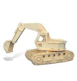 3D Puzzles Excavator
