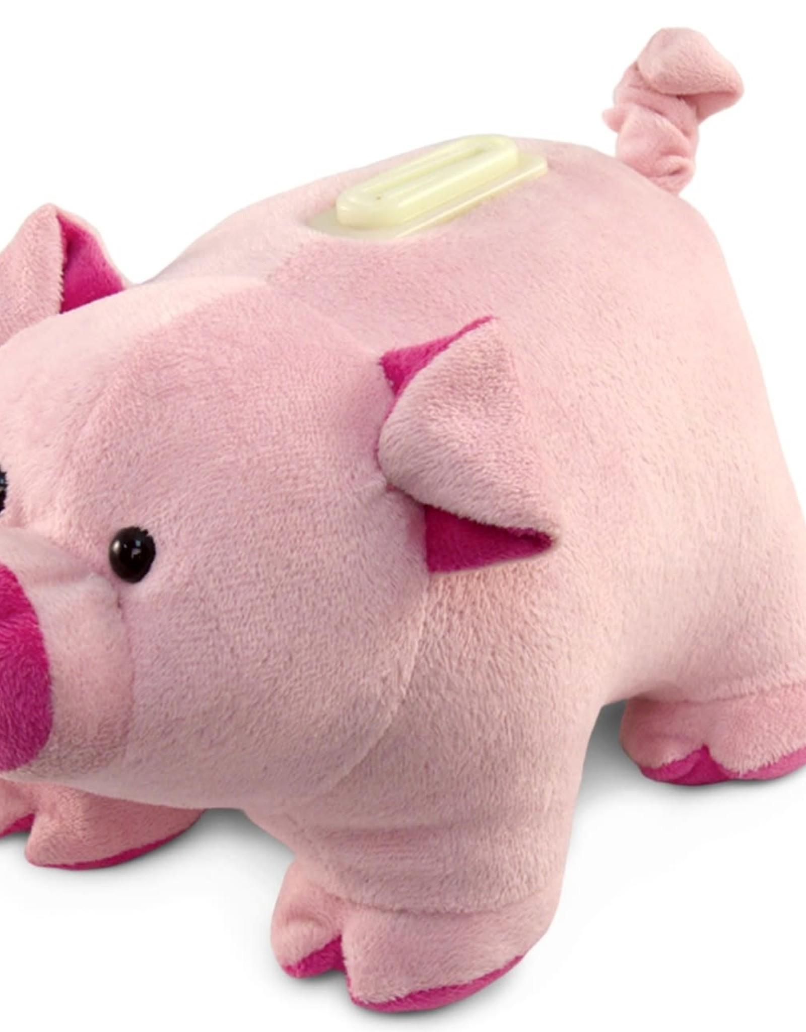 Bank Plush Pig