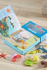 Melissa & Doug MD Play Along Seashore Book & Toys