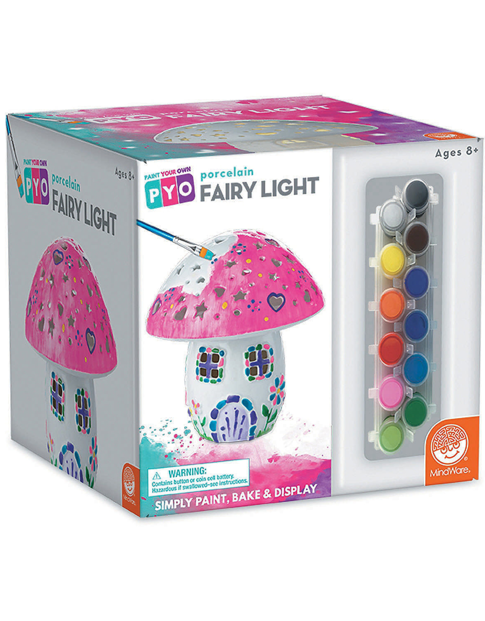 MindWare Paint Your Own Fairy Light