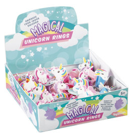 Toysmith 1 Magical Unicorn Rings