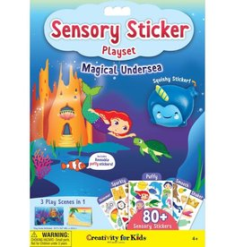 Creativity for Kids Sensory Sticker Playset Magical Undersea