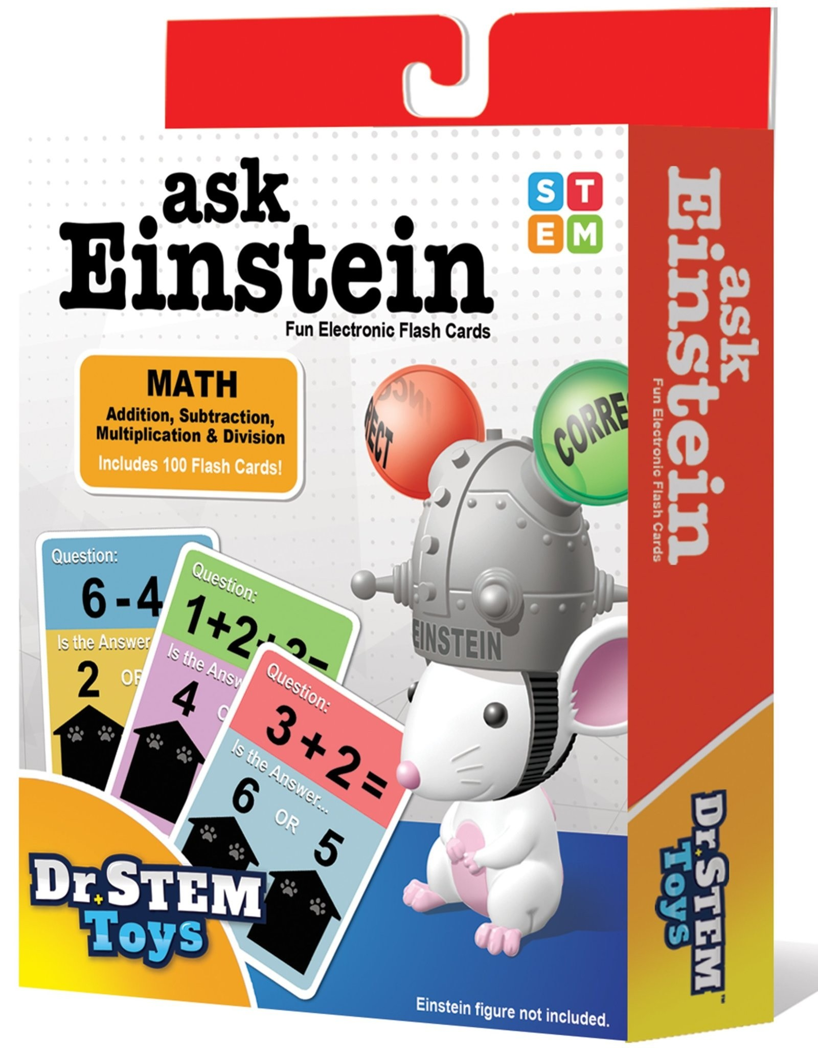 Dr Stem Toys Ask Einstein Math Set