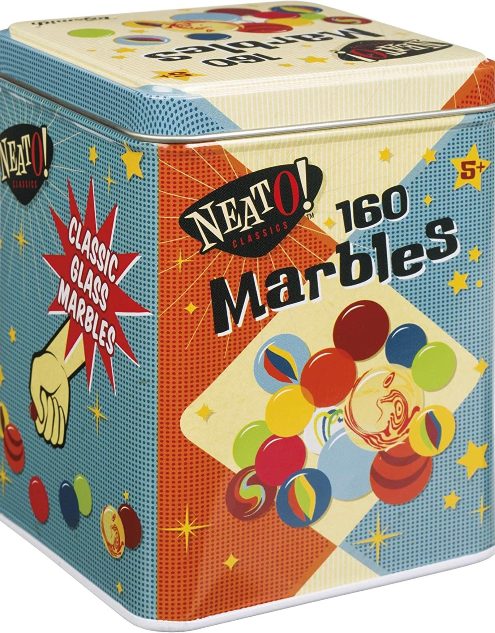 Toysmith Marbles In Tin Box