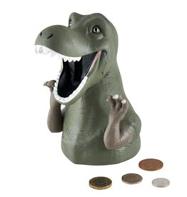 Floss & Rock Money Bank Dino Resin