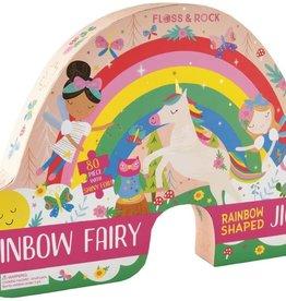 Floss & Rock 80pc Rainbow Fairy Jigsaw