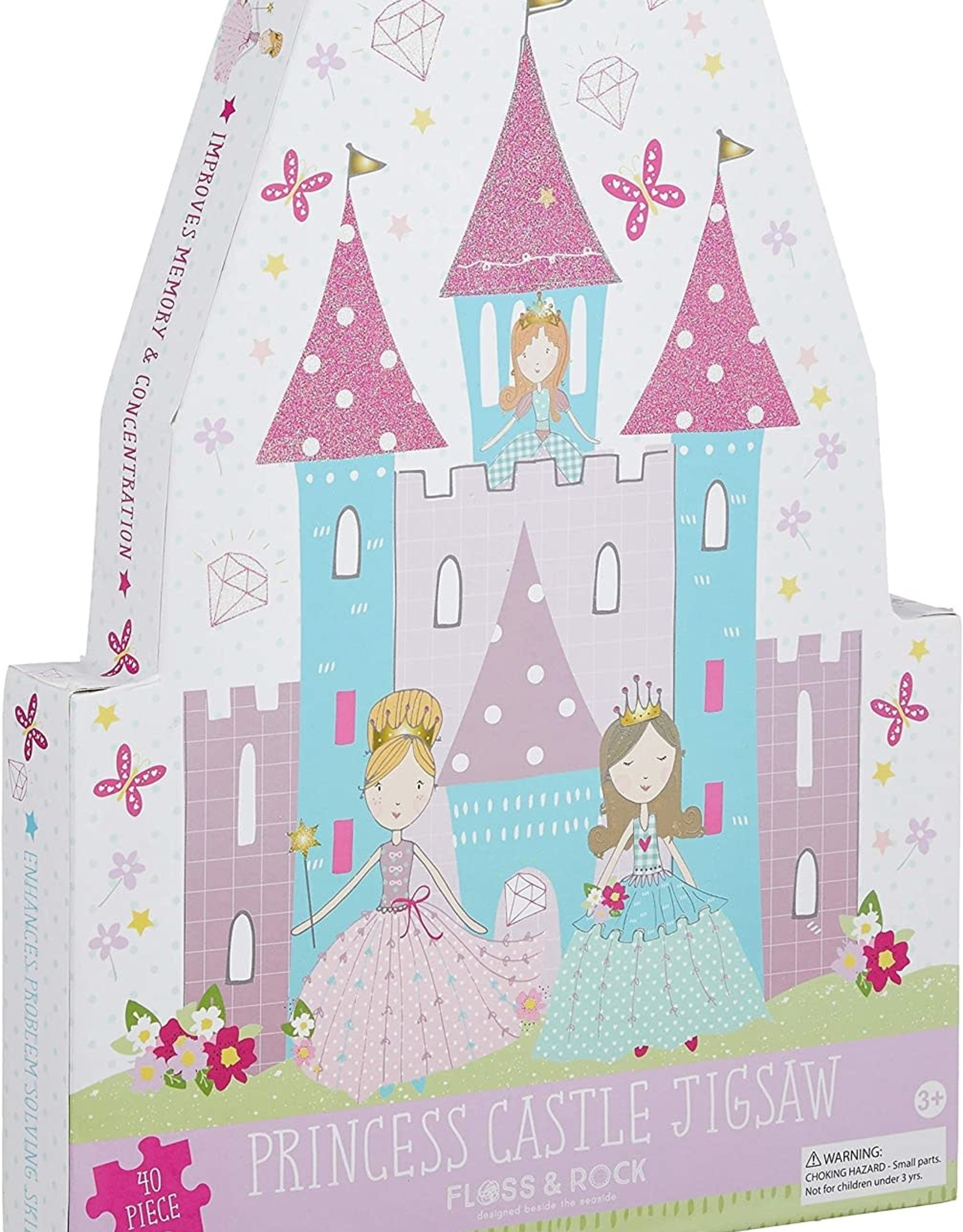 Floss & Rock Princess Jigsaw 40pc