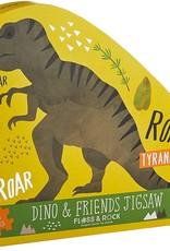 Floss & Rock Dinosaur Jigsaw 40pc