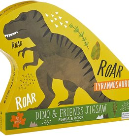 Floss & Rock Dinosaur Jigsaw 40pc