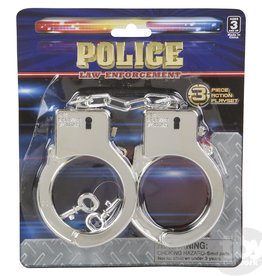The Toy Network Hand Cuffs Police  Plastic