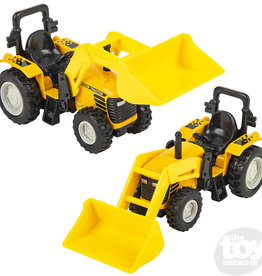 The Toy Network Die Cast Scoop Tractor