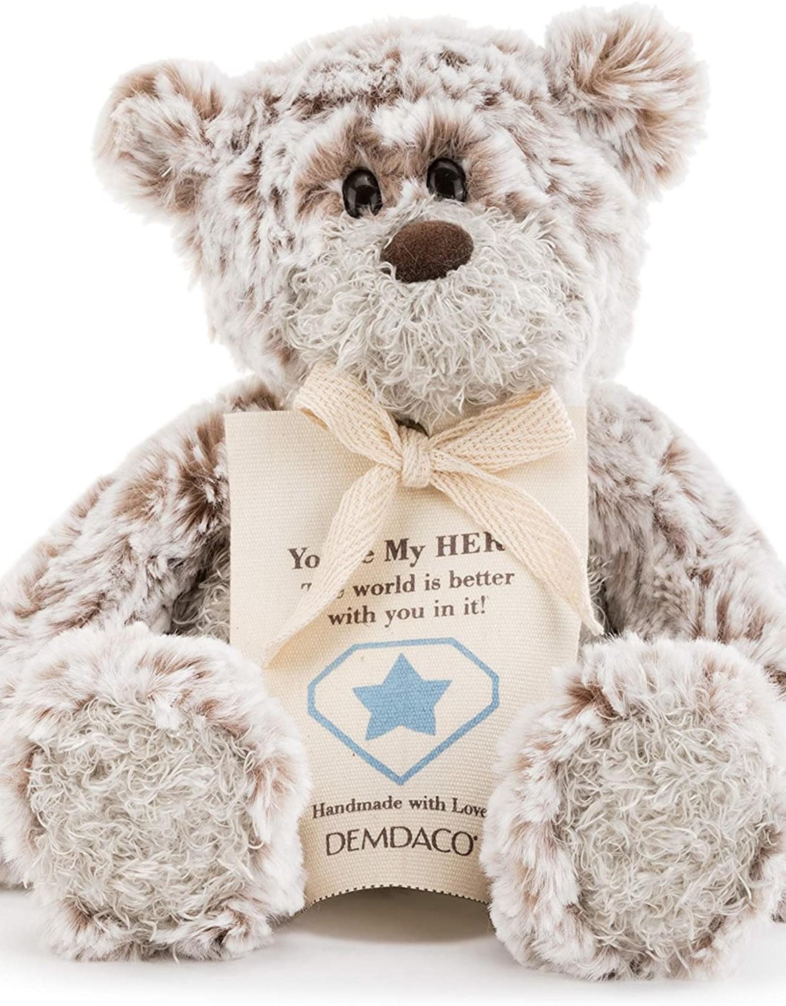 Demdaco Giving Bear Mini Hero