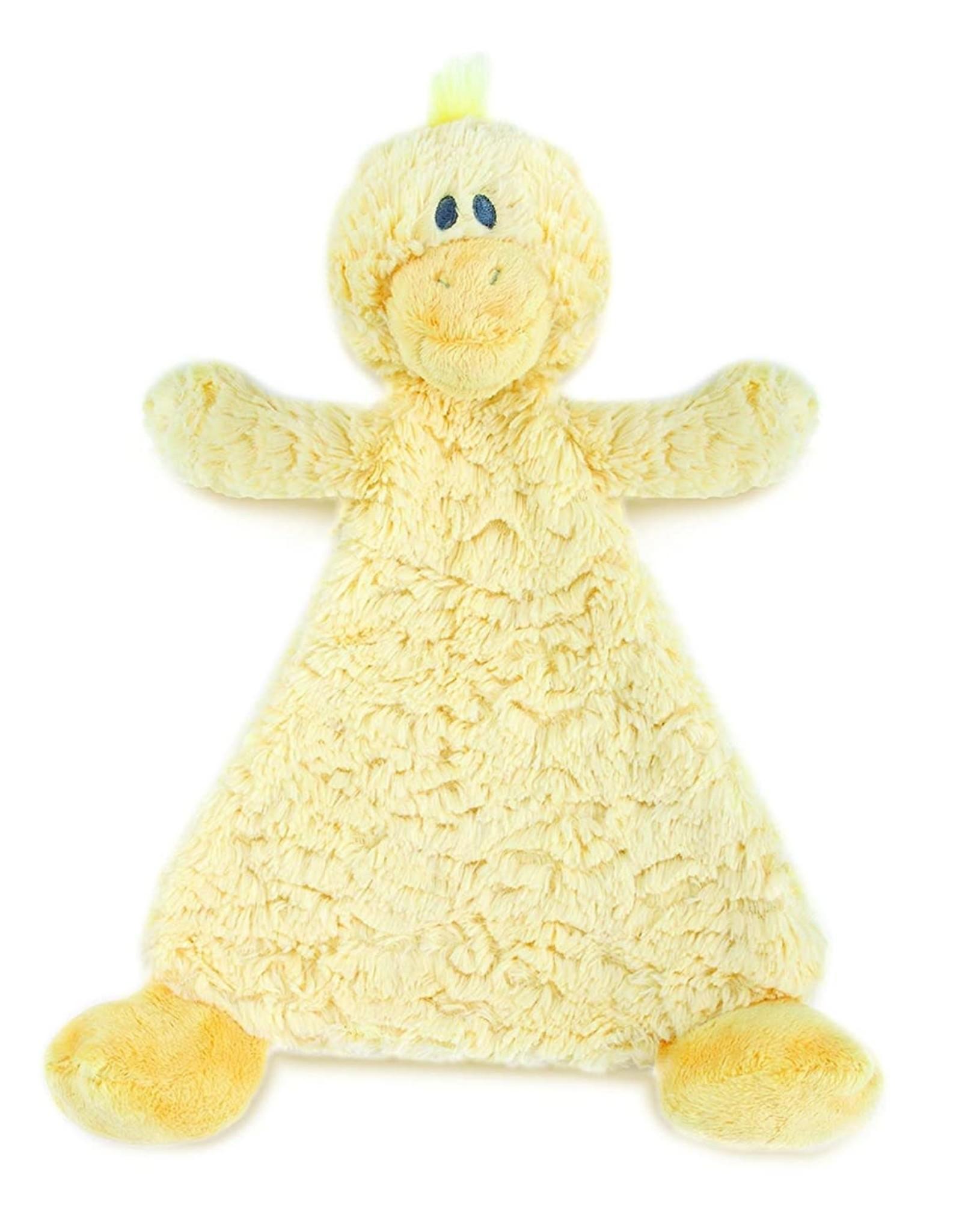 Demdaco Rattle Blankie Duck