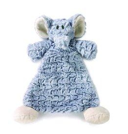 Demdaco Rattle Blankie Elephant