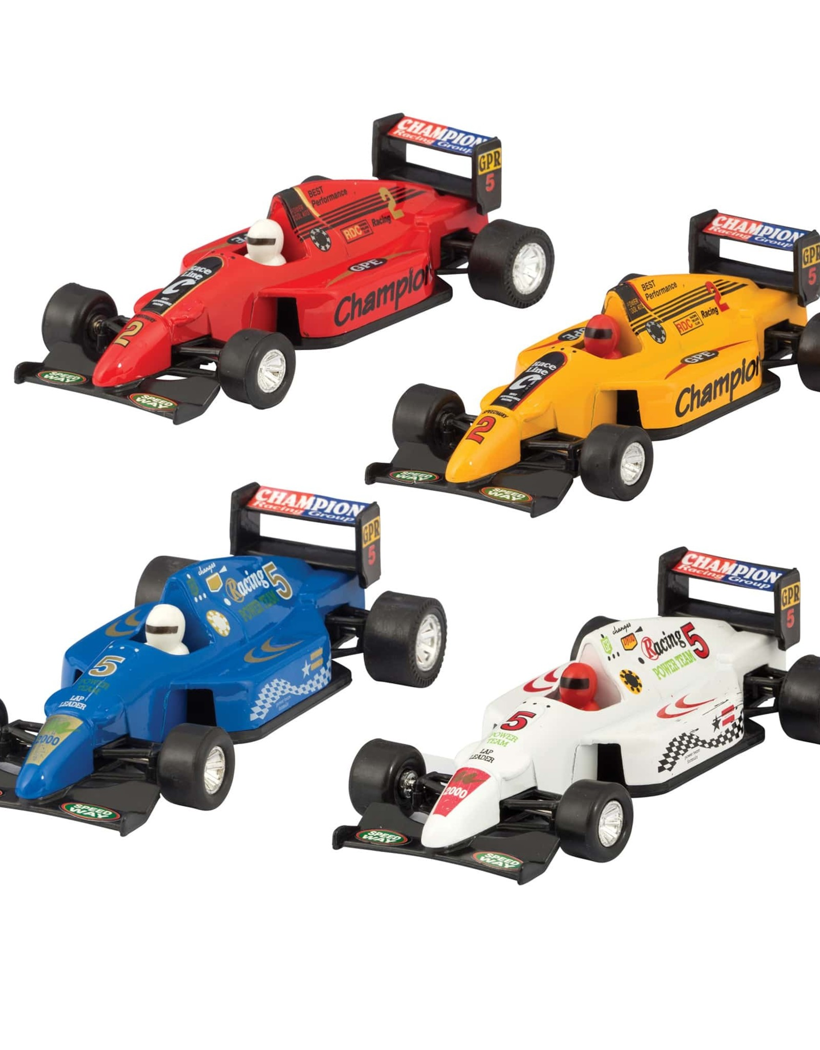Schylling Die Cast Formula One Race Cars