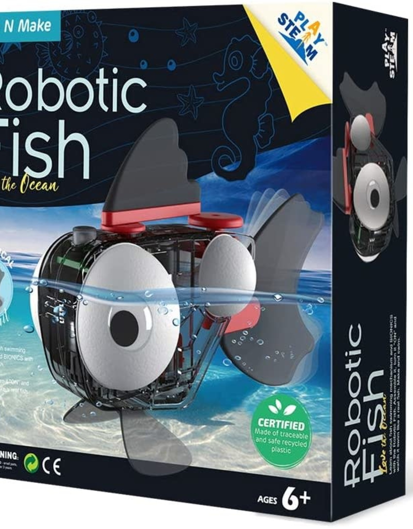 Play Steam Robotic Fish