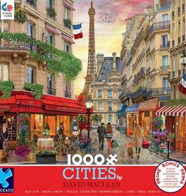 Ceaco 1000pc David Maclean Cities - Paris