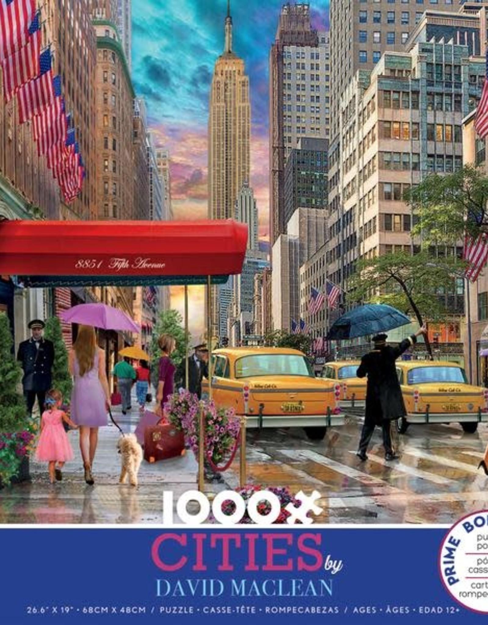 1000pc David Maclean Cities New York