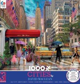 Ceaco 1000pc David Maclean Cities New York