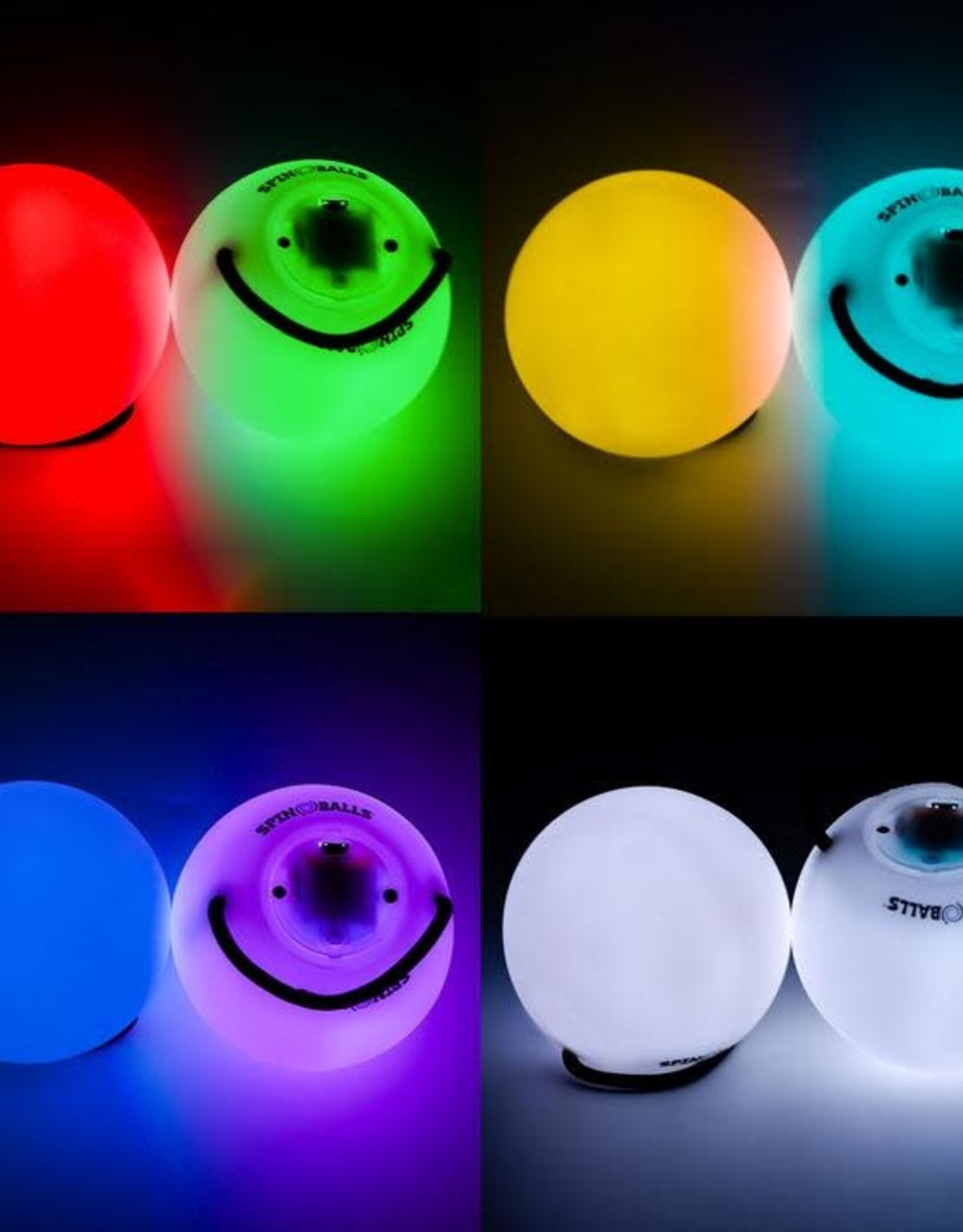 Fun in Motion Toys Spin Balls Light Up