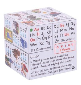Bigjigs Toys Cube Book Spelling