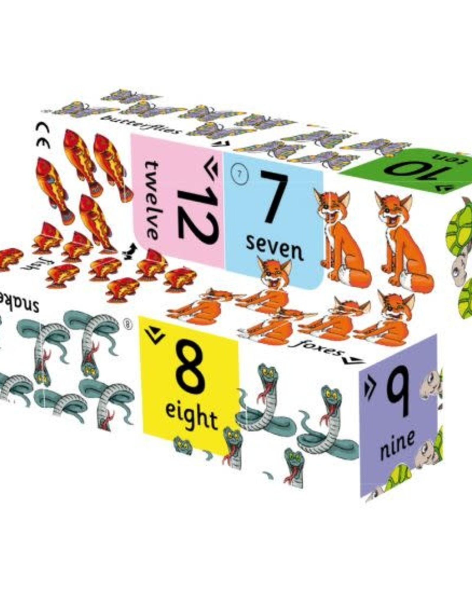 Bigjigs Toys Cube Book First Numbers
