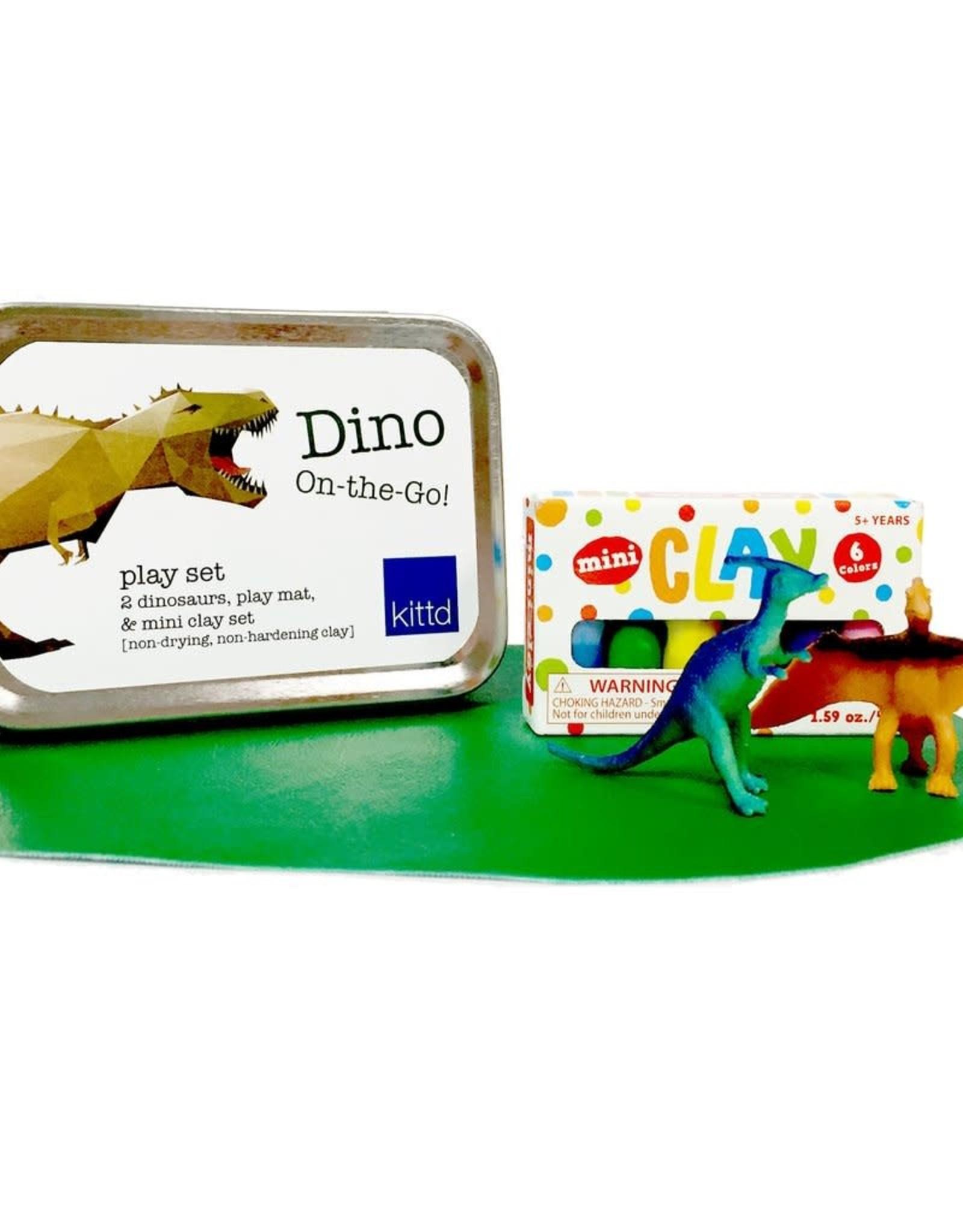 Kittd On The Go Tin Dino