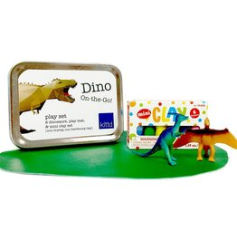 Kittd On The Go Tin Dino