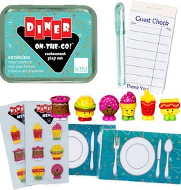 Kittd On The Go Tin Diner
