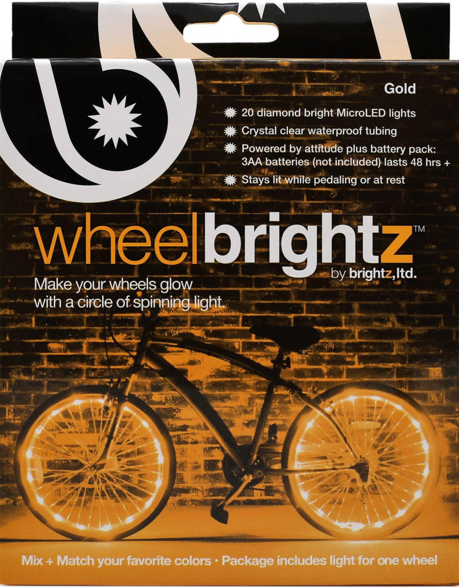 Brightz Bike Wheel Brightz - Gold