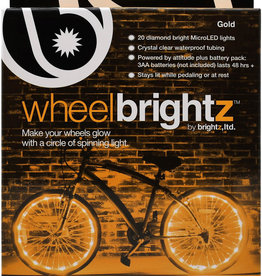 Brightz Bike Wheel Brightz - Gold